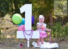 Sanford Photography 1st Birthday Picture