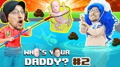 BAD BABY POOPS EVERYWHERE! WHO'S YOUR DADDY 2! Super Dad saves Drowning kids in Pool! (FGTEEV UGLY) - YouTube
