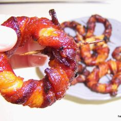 Sriracha bacon onion rings challenge mozzarella sticks to try harder