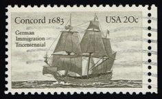 US #2040 Concord; Used (0.25)