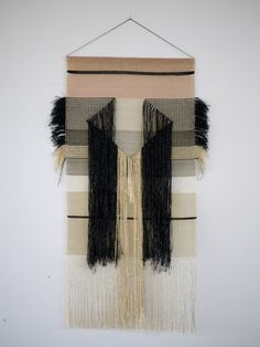 hand woven wall hanging | Diamond, by Justine Ashbee at Native Line
