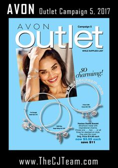 Avon Campaign 5, 2017 Outlet Sale - Shop early, these are only available WHILE SUPPLIES LAST!  Shop Avon Campaign 5, 2017 Outlet online February 2, 2017 through February 15, 2017. #Avon #CJTeam #Campaign5 #ShopNow #Sale #Outlet #Clearance #WhileSuppliesLast Sell Avon Online @ www.CJTeam.us. Shop Avon Online @ www.TheCJTeam.com