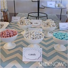 It's a boy... and a girl! The Chevron Chic Baby Shower