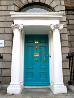 Colourful Georgian doors in the centre of Dublin, by unknown author. Repinned by WI/IE. _____________________________Do feel free to visit us on http://www.wonderfulireland.ie/east/dublin-south-central/#/ for lots more pictures and stories of beautiful Ireland.