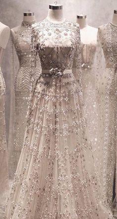 Bridal drees elie saab haute couture new Ideas Desi Wedding Dresses, Pakistani Bridal Dresses, Bridal Lehenga, Bridal Gowns, Wedding Gowns, Boho Wedding, Wedding Suits, Trendy Wedding, Luxury Wedding