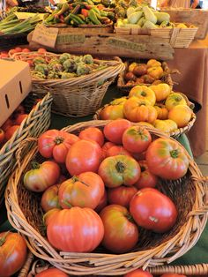 Good things at the Ferry Plaza Farmers Market in San Francisco. Photo credit and pinned by www.CaliforniasHarvest.com
