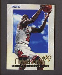 be4cd813499 1996-97 Skybox E-X2000 Credentials #9 Michael Jordan Bulls HOF /499
