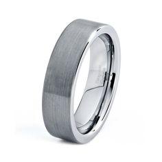 Tungsten Wedding Band Tungsten Ring Tungsten by GiftFlavors, $57.77