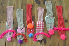 sock puppets....