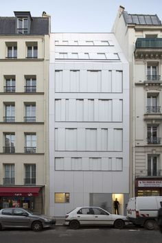 Rue des Poissonniers Housing / MAAST