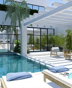 Get the perfect custom pergola shade for your delight. Find the pergola pool designs that suit the space you want to create! Tropical Backyard, Backyard Pool Designs, Pergola Designs, Pool Landscaping, Pool Backyard, Pool Gazebo, Courtyard Pool, Pool Fence, Pool Decks