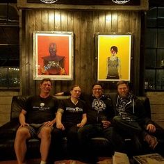 A few of tacomas Brewers enjoying the hospitality of @dystopian.state