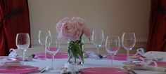 Light pink peonies flowers in a canning jar make a fabulous peony wedding centerpiece. Peonies Wedding Centerpieces, Peonies Centerpiece, Wedding Flowers, Peony Arrangement, Bridezilla, Peony Flower, Reception Table, Pink Peonies, Table Decorations