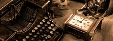 Image result for typewriter in space