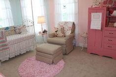 Shabby Chic Nursery Chair