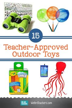 15 Teacher-Approved Outdoor Toys to Get Kids Learning & Moving. If your family can spend time outdoors, these outdoor toys and games are worth checking out. After all, learning doesn't only take place in classrooms! Teaching Kids, Kids Learning, We Are Teachers, Outdoor Learning, Outdoor Toys, Learning Through Play, Nature Crafts, Summer Activities, Elementary Schools