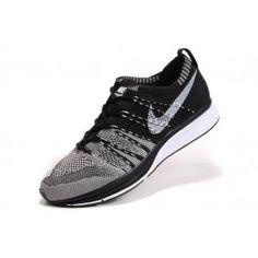 64502e89 Nike Flyknit Trainer+ Unisex Svart Hvit | Nike billige sko | kjøp Nike sko  på nett