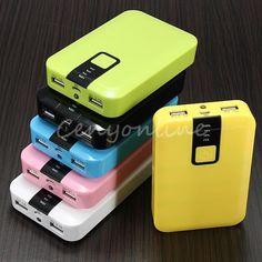12000mAh LCD Dual Backup USB External Power Bank Battery Charger for Cell Phone.   Katso myös hongkong.fi Deuzer kannettava käynnistysapu, varavirtalähde, 12Ah. 69,95€, 15.10.2015