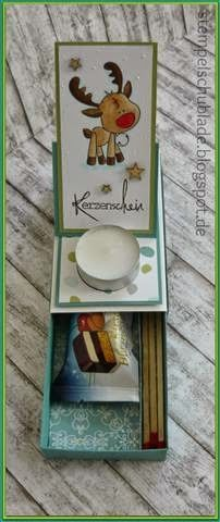Dani´s Stempelschublade: Weihnachts-Easelbox-Karte!