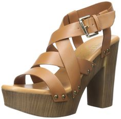 Callisto Women's Buck Heeled Sandal -- Don't get left behind, see this great outdoor item - Block heel sandals