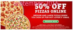 Pizza Hut Coupons Ends of Coupon Promo Codes MAY 2020 ! Enjoy your moments of life in Pizza Hut. Try Pizza Hut, one of the world's lar. Pizza Coupons, Grocery Coupons, Love Coupons, Print Coupons, Free Printable Coupons, Free Printables, Pizza Hut Coupon Codes, Order Pizza Online, Dollar General Couponing