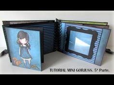 Tutorial mini Gorjuss. 6ª Parte. - YouTube