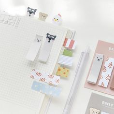 48pieces ♡ Luxury Fun Cute Kawaii Craft Decorations Paper Stickers Stationary♡
