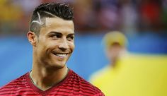 ABC HAIRSTYLES: Cristiano Ronaldo Hairstyles on World Cup 2014