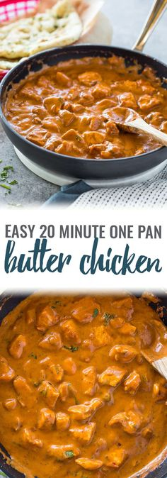 Easy 20 Minute Butter Chicken – Food – Home Recippe Chicken Butter Masala, Indian Butter Chicken, Quick Healthy Meals, Easy Meals, Zoodle Recipes, Food Tasting, Easy Chicken Recipes, Easy Butter Chicken Recipe, Butter