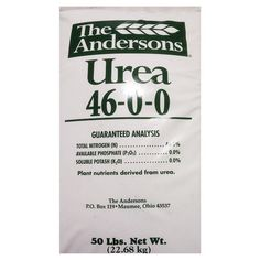 The Andersons 46-0-0 Urea Fertilizer (50 lb.) by ChicagoFabrications