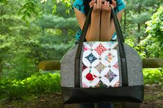 My Go-Go Life: Liberty of London Cathedral Window Aeroplane Bag for Market!