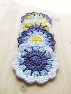 Ravelry: Crochet Coasters by Coats Design Team