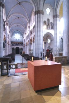 Altar St. Benno | HeidelbergCement Deutschland