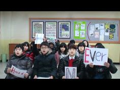 Awesome word project activity in a 7th grade ESL classroom here in Korea!