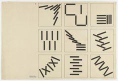 Albrecht Heubner Untitled (typographic design) (From Joost Schmidt's Bauhaus Design Course) c. 1928