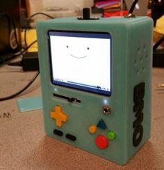 7 Photos of a WORKING BMO Super Nintendo Emulator