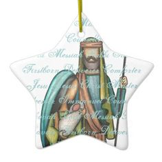 Shop Religious Christmas Ornament created by eshancock. Christmas Tree Decorations, Christmas Ornaments, Holiday Crafts, Holiday Decor, Christmas Jesus, Christmas Traditions, Nativity, Christian, Popular