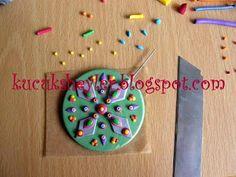 ♥ polimer kil/fimo, resin ve kart yapım çalışmaları ♥: polimer kil kolye