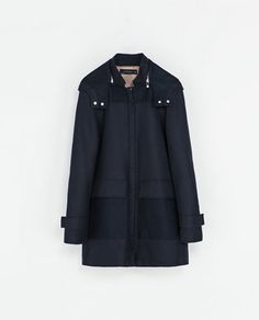ZARA - WOMAN - COAT WITH QUILTED LINING