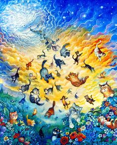 Creation of Cats by Bill Bell