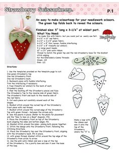 Red Brolly - don't stop with this pattern. Her blog has great tutorials, recipes, tips, and pictures.