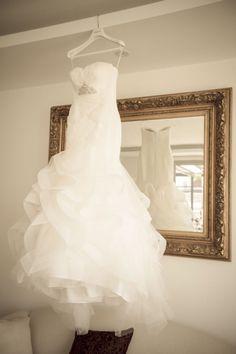 Pronovias 2014, Ledurne Style 11/21 Chiffon Size 8 Wedding Dress For Sale | Still White New Zealand