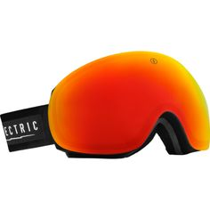 Electric Snow Goggles EG3 Gloss Black Bronze Red Chrome