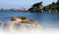 Côte de Granit Rose : séjours et vacances en Bretagne : Lannion, Perros-Guirec, Pleumeur-Bodou, Trébeurden, Trégastel,