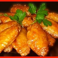 Heroin Chicken Wings... This recipe will knock your socks off! Crazy recipe title but they truly are addicting!