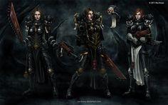 Sisters of Battle by Ros-Kovac.deviantart.com on @deviantART
