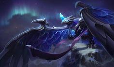 Anivia-hielo oscuro-League of Legends