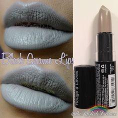 Black Sesame Lips Nyx Macaron, Macarons, Black Sesame, Nyx Cosmetics, How To Look Pretty, Swatch, Make Up, Lipstick, Perfume