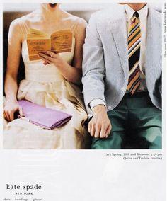 Kate spade print ad - love