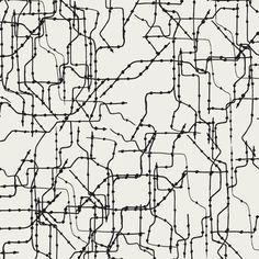 Subway Routes Dark